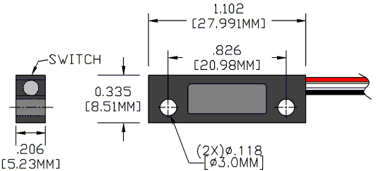Series 2060 Sensor Reed Switch Developments Corp